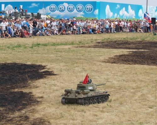 Радиоуправляемые модели танков - IV Международный Салон вооружения и военной техники - Фотоальбом - planet IVC
